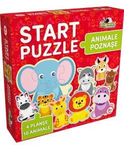 Start Puzzle Noriel 4 in 1 - Animalute poznase