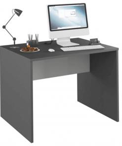 Masă PC, grafit/alb, RIOMA TYP 12