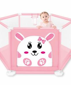 Tarc de joaca pentru copii - Roz