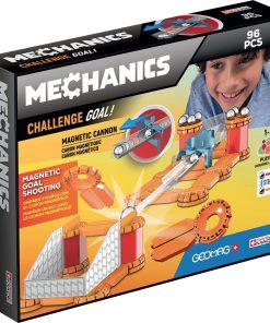 Joc de constructie Geomag Mechanics Challenge Gravity, 96 piese