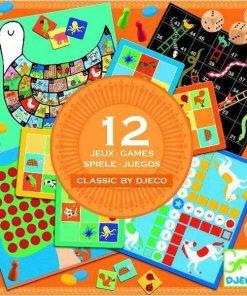 12 jocuri clasice - Logica si gandire critica