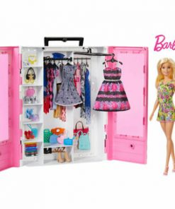 Barbie - Dulap cu papusa inclusa