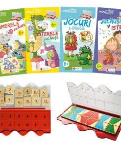 Set joc educativ LUK, varsta 6 ani, Matematica, limba romana, logica si creativitate Editura Kreativ EK6152