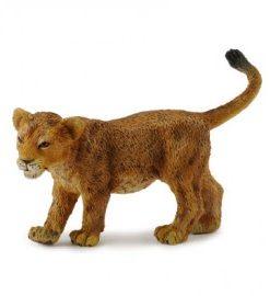 Figurina Pui de leu mergand S Collecta