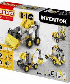 Joc de Constructie Creativ Inventor 8 Modele Utilaje Industriale