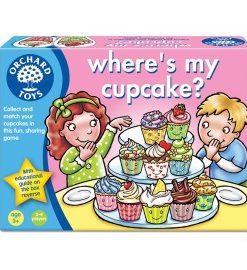Joc educativ in limba engleza Briosa WHERE'S MY CUPCAKE?