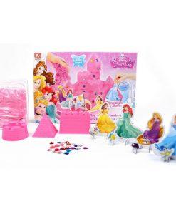 Set Nisip Kinetic Castelul Disney Princess