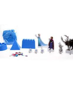 Set Nisip Kinetic Castelul Disney Frozen