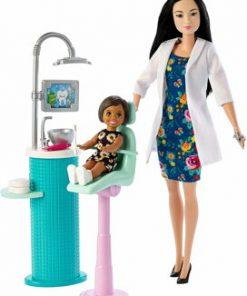 Set de joaca, Barbie - Mobilier cu papusa stomatolog