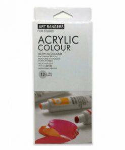 Set 12 culori acrilice Marabu