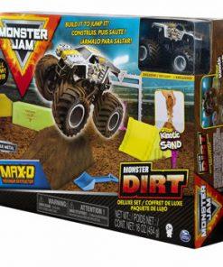 Monster Jam, set camioneta Max-D cu nisip kinetic