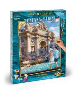 Kit pictura pe numere schipper roma fontana di trevi
