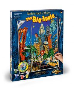 Kit pictura pe numere schipper the big apple