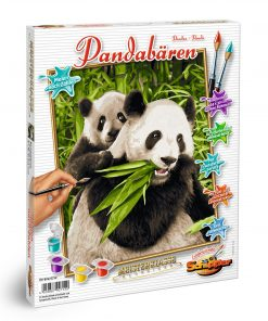 Kit pictura pe numere schipper ursuletii panda