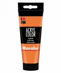 Culoare acrilica Marabu, 100 ml, Orange