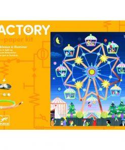 Atelier Arta, Stiinta si Tehnologie - Lumini si distractie - Set creativitate si indemanare