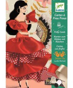 Atelier de cusut Flamenco - Set creativitate si indemanare