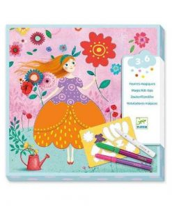 Atelier de desen Rochii frumoase, - Set creativitate si indemanare - Djeco
