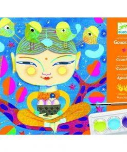 Atelier de pictura India - Set creativitate si indemanare