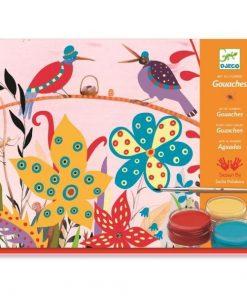 Atelier de pictura pentru copii Sachas Garden - Set creativitate si indemanare