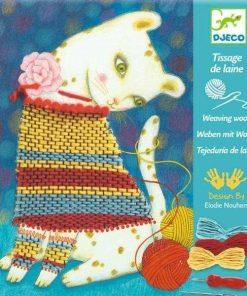 Atelier de tesut - Haina pisicutei - Set creativitate si indemanare