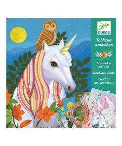 Atelier - Unicorni - Set creativitate si indemanare Djeco