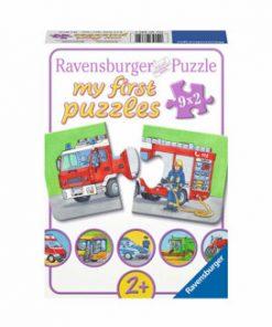 Puzzle Vehicule motorizate, 18 piese