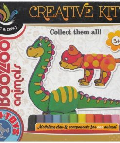 BooZoo animals. Plastilina, Animale: Dinozaur
