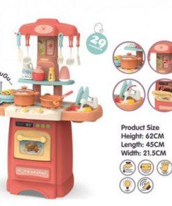 Bucatarie multifunctionala pentru copii Alibibi cu lumini si sunete 28896