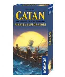 Catan - Extensie 5-6 jucatori: Pirati si Exploratori