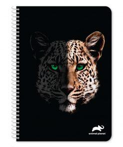 Caiet diactando cu spirala A4 Animal Planet, 120 file