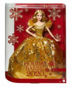 Papusa Barbie de colectie - Editia de sarbatori 2020