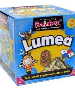 Joc educativ - BrainBox - Lumea