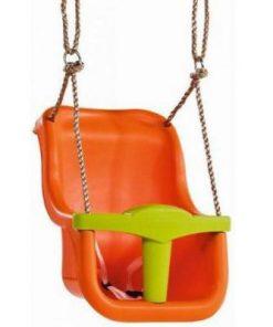 Leagan pentru copii Luxe PP portocaliu - verde lime 25950
