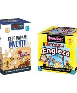 Pachet BrainBox: Sa invatam engleza + MemoRace: Cele mai mari inventii