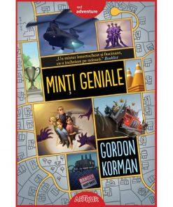 Carte Editura Arthur, Minti geniale 1, Gordon Korman, editie noua