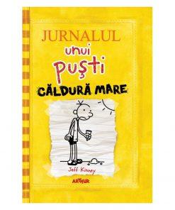 Carte Editura Arthur, Jurnalul unui pusti 4. Caldura mare, editie noua