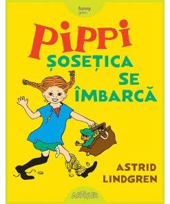 Carte Editura Arthur, Pippi Sosetica se imbraca, Astrid Lindgren