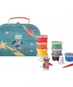 Set de modelaj cu plastilina, Astro-Robot