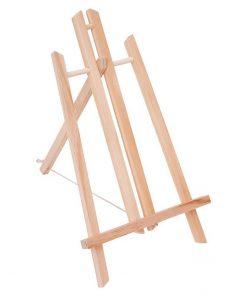 Șevalet de masă din lemn, Mini, 40 cm √Ænăl»õime