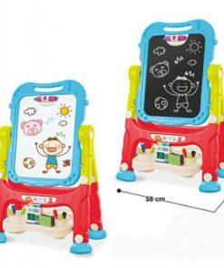 Tabla magnetica de scris si desenat cu doua fete Alibibi 28898