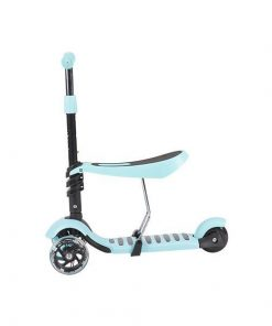 Trotineta evolutiva Scooter 3 in 1 Ride and Skate Blue