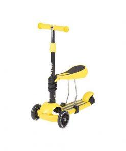 Trotineta evolutiva Scooter 3 in 1 Ride and Skate Yellow