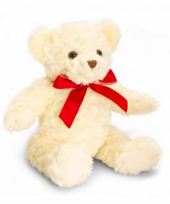 Ursulet de plus traditional crem 25 cm Keel Toys