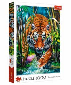 Puzzle Trefl Tigru, 1000 piese