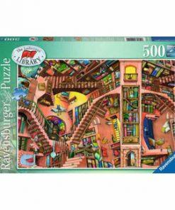 Puzzle Ravensburger Libraria Ridicola, 500 piese