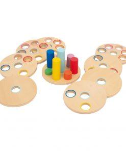 Joc motric din lemn Legler Plug-in Game
