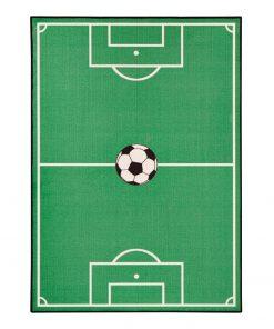 Covor pentru copii Zala Living Football, 100 x 140 cm, verde