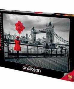 Puzzle Anatolian Tower Bridge, 1000 piese