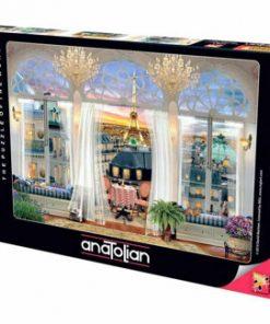 Puzzle Anatolian Paris Roof Terrace, 1000 piese